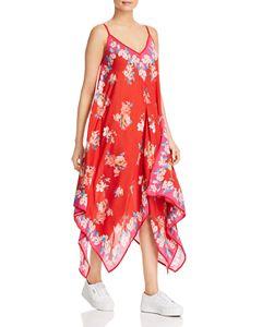 9c96ac3a692 AQUA Off-the-Shoulder Flounced Midi Dress - 100% Exclusive ...