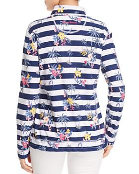 Tommy Bahama - Lanai and Order Floral Stripe Sweatshirt