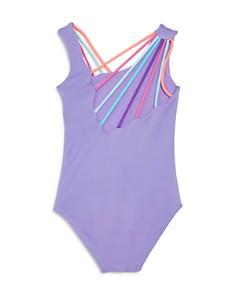 Peixoto - Girls' Olivia Asymmetric & Strappy One-Piece Swimsuit - Little Kid, Big Kid