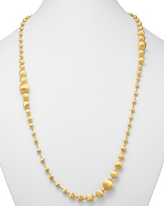 """Marco Bicego - 18K Yellow Gold Africa Beaded Necklace, 36"""""""
