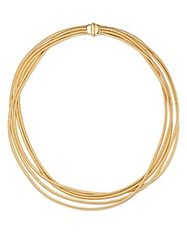 """Marco Bicego - 18K Yellow Gold Cairo Multi-Strand Collar Necklace, 17"""""""