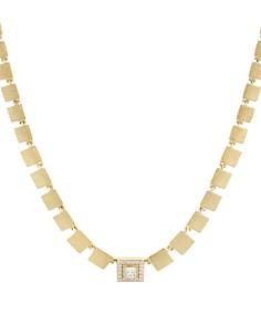 "Nadri - Square Pennant Pendant Necklace, 15"""