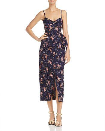 Rebecca Taylor - Floral Faux-Wrap Dress