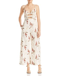 Rebecca Taylor - Ivie Floral-Embroidered Jumpsuit