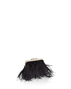 BCBGMAXAZRIA - Opal Feather Clutch