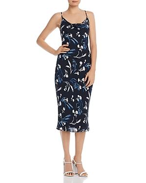 Joie Dresses MARCENNA FLORAL-PRINT SILK DRESS