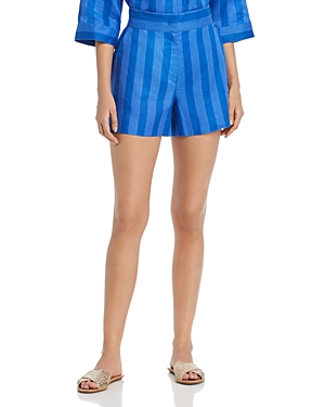 Escada Sport Shorts SPORT TIMANY STRIPED SHORTS