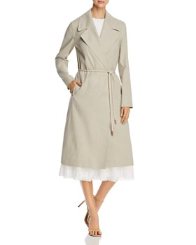 Lafayette 148 New York - Zelida Rope-Belt Trench Coat
