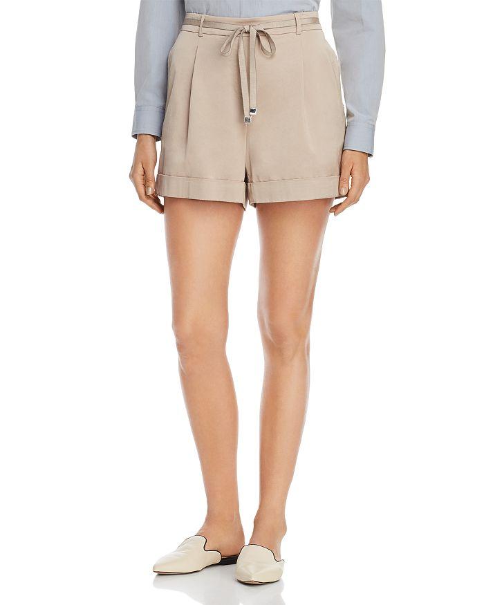 Lafayette 148 New York - Columbus Tie-Waist Shorts