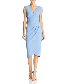 Adrianna Papell - Rio Faux-Wrap Knit Dress