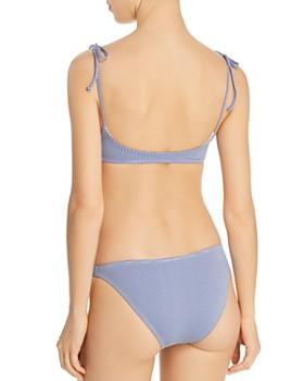 L*Space - Summer Love Plaid Daisy Bikini Top & Camacho Bikini Bottom