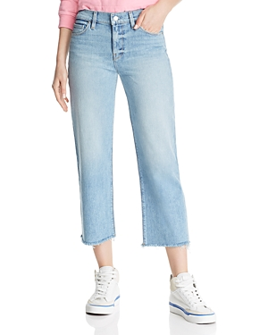Hudson Jeans STELLA CROP STRAIGHT JEANS IN SUNDRIED