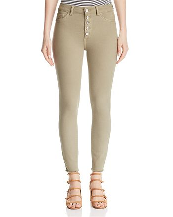 DL1961 - Farrow Crop Skinny Jeans in Sea Grass