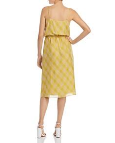 Joie - Abiah Plaid Silk Dress