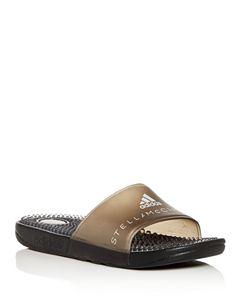 4b581f0b2a70 adidas by Stella McCartney Women s Adissage Pool Slide Sandals ...
