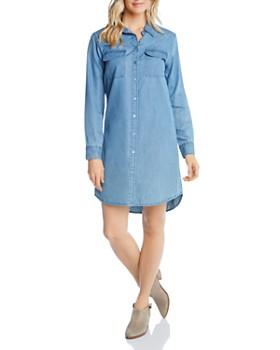 3f2a4372e9978 Karen Kane - Chambray Shirt Dress ...