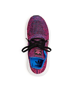 Adidas - Girls' Swift Run Knit Low-Top Sneakers - Toddler, Little Kid