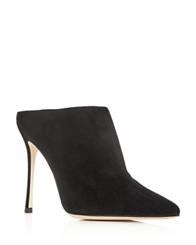 Sergio Rossi - Women's Godiva Pointed-Toe High-Heel Mules