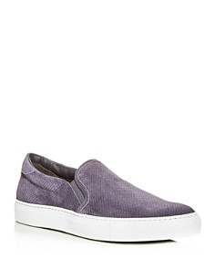 To Boot New York - Men's Racer Suede Slip-On Sneakers