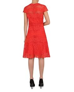 Gerard Darel - Gwenaelle Waved-Lace A-Line Dress