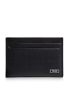Tumi - Monaco Embossed Leather Slim Card Case