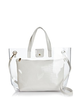 4dfc70bfa60df9 AQUA - Clear Tote Bag with Pouch - 100% Exclusive ...