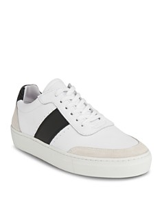 Whistles - Women's York Side Stripe Low Top Sneakers