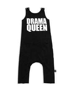 NUNUNU - Girls' Drama Queen Romper - Baby