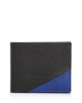 Longchamp - Parisis Color-Block Leather Bi-Fold Wallet