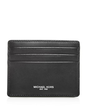 0c433d2a7a02ac Michael Kors - Henry Aroma Leather Card Case ...