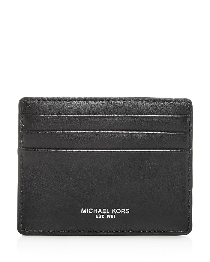 Michael Kors - Henry Aroma Leather Card Case