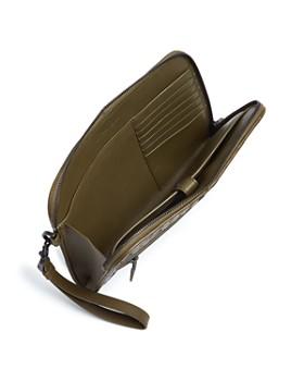 Bottega Veneta - Intrecciato Tartan Leather Document Case