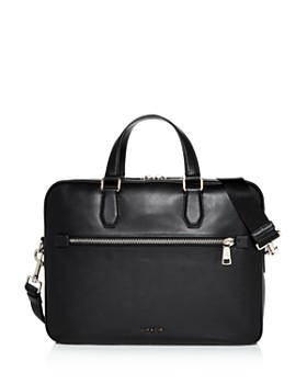 COACH - Kennedy Leather Briefcase