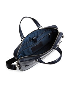COACH - Kennedy Crossgrain Leather Briefcase