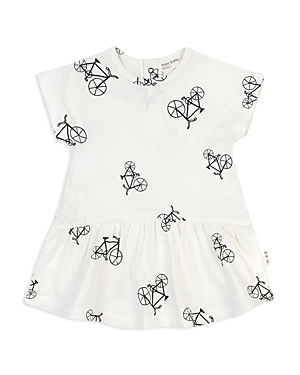 Miles Child Girls Bicycle Print FitandFlare Dress  Little Kid