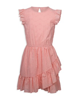 beddbf02e5 BCBGirls - Girls  Ruffled Fit-and-Flare Dress - Little Kid ...