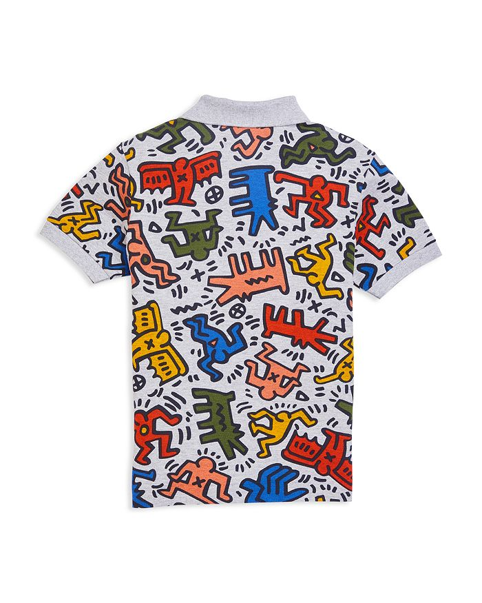 0ab6d064a4 Lacoste x Keith Haring Boys' Graphic Polo Shirt - Little Kid ...