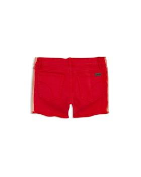 JOE'S - Girls' Contrast-Side Denim Shorts - Big Kid