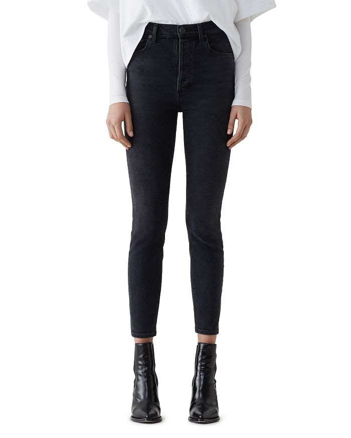 AGOLDE - Nico High Rise Slim Jeans in Virtue