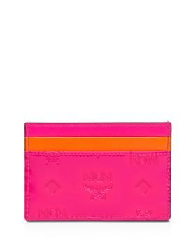 MCM - Klara Monogrammed Leather Card Case
