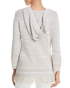 Tommy Bahama - Anacapa Fringe Stripe Hooded Sweater