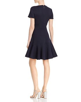 Rebecca Taylor - Textured Knit Skater Dress