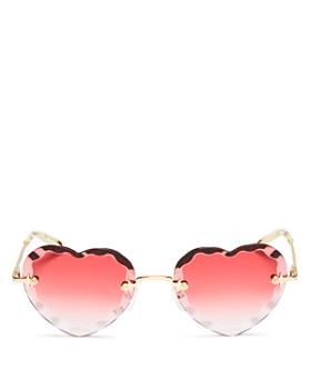 dc2a4dabc6 Chloé - Women s Rosie Heart Sunglasses