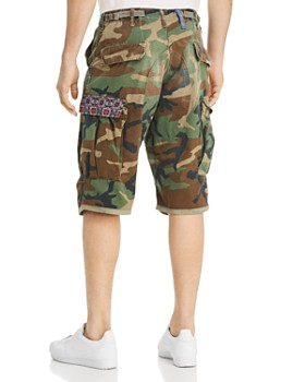 ATELIER AND REPAIRS - Woodland Camouflage-Print Cargo Shorts - 100% Exclusive