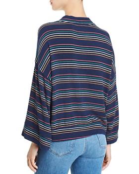 d1626a5ddd3 ... Sundry - Kimono-Sleeve Striped Sweatshirt