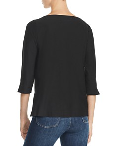 Eileen Fisher - Three-Quarter-Sleeve Top