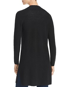 Eileen Fisher - Ribbed Long Open Cardigan