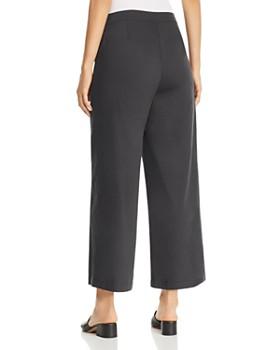 Eileen Fisher - Organic Cotton Cropped Wide-Leg Pants