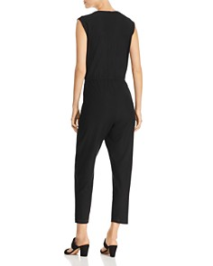 Eileen Fisher Petites - V-Neck Jumpsuit