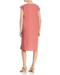 Eileen Fisher Petites - Cap-Sleeve Shift Dress